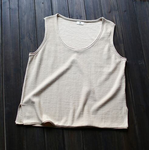 Organic Cotton Sleeveless summer Tops