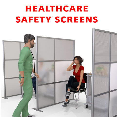 Healthcare Safety Screen Partitions