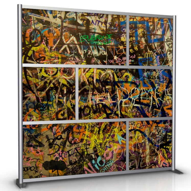 Graffiti Walls for Office Partitions by iDivide