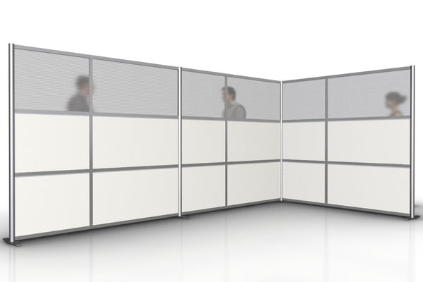 L-Shaped Office Partitions for Conference Room
