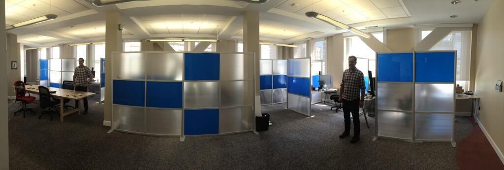 Modern Office Partitions & Room Dividers by iDivide
