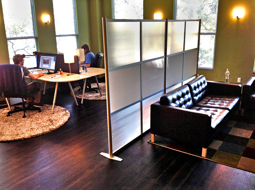 modern room partitions and office divider walls