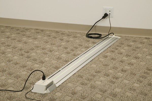 Mockett Floor Power Track System for Office