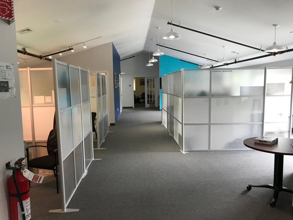 ATCO LANAIR Offices with modern office partitions by iDivide
