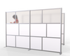 Office Partition Portable Freestanding Room Divider Wall
