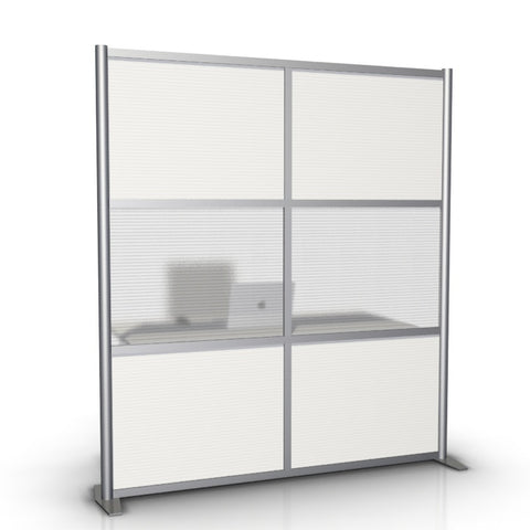 Office Partition & Room Divider, Translucent Panels, 68