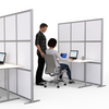 Modern Office Partitions & Room Dividers for cubicles or desk dividers