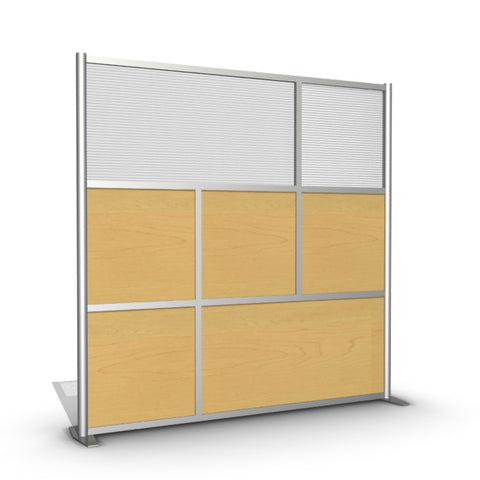 Modern Office Partition Cubicle Divider - Model SW7575-3