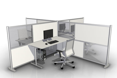 T-Shaped Office Partition - 84