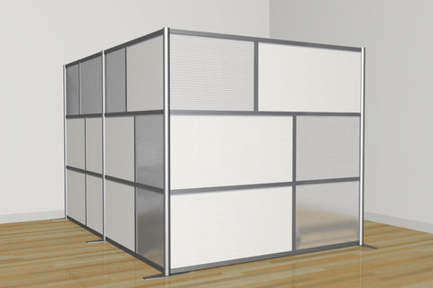 L-Shapped Office Partition118