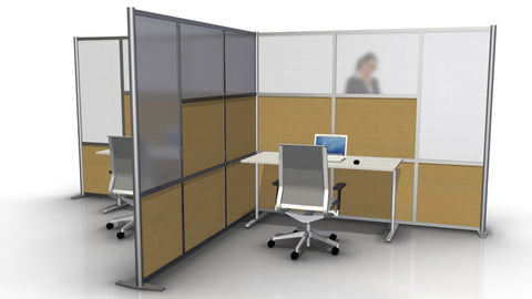 T-Shaped Office Partition - 182