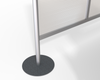 Restaurant Dining Table Divider Support Base Detail
