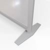 Base Detail for office desk divider partitions