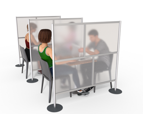 Restaurant Dining Table Divider Partitions