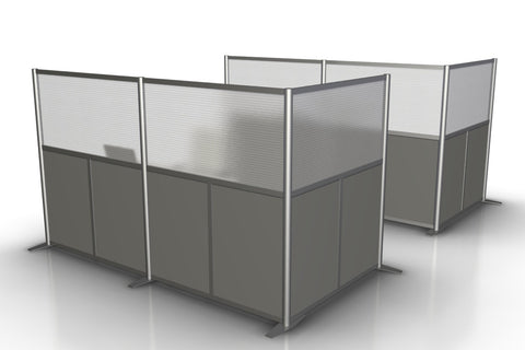 L Shaped Office Partition, 100