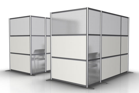 office room partitions. L-Shaped Office Room Partition - 100 Partitions