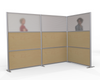 L-Shaped Cubicle Partition, 100