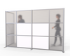 L-Shaped Room Partition for Offices