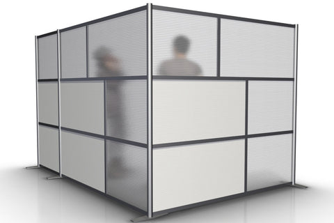 L-Shaped Office Partition, 117