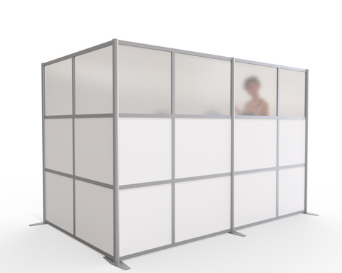 modern room partition L-Shaped Cubicle