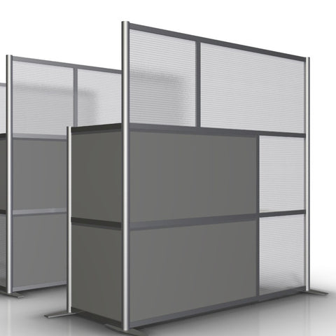 L-Shaped Office Partition - 75