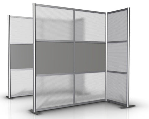 L-Shaped Office Partition, 68