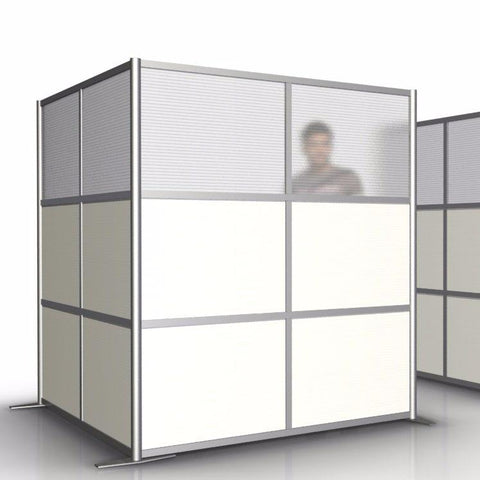 L-Shaped Office Room Partition - 68