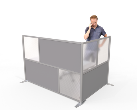 Modern Office Partition 51 inch height