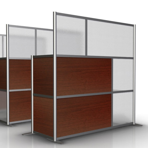 L Shaped Modern Office Partition, 75