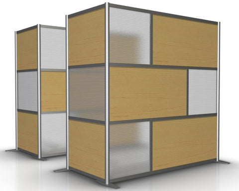 L-Shaped Cubicle Partition, 75
