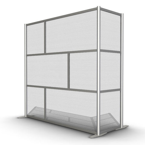 L-Shaped Room Divider Wall