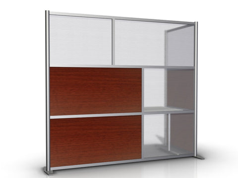 L-Shaped Room Partition - 84