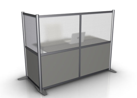L-Shaped Office Partition - 68
