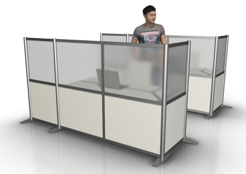 L-Shaped Office Partition 92