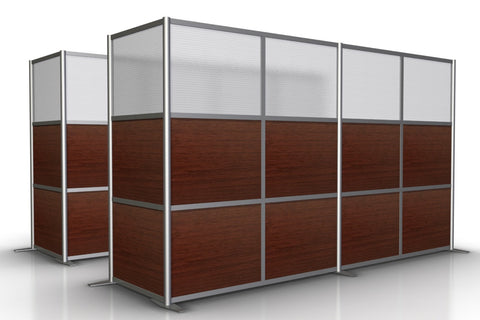 L-Shaped Office Partition, 133