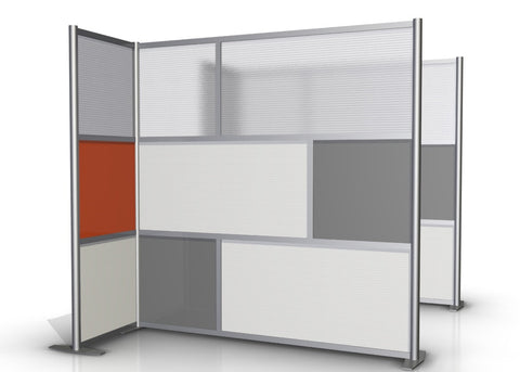 L-Shaped Office Partition, 75