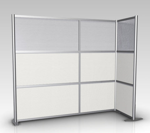 Modern Room Partition L-Shaped 84