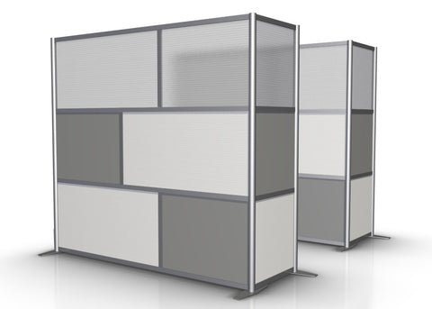 L-Shaped Office Partition, 84