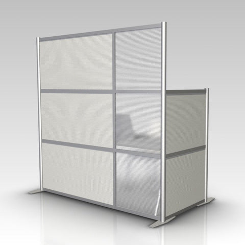 Modern Room Divider L-Shaped