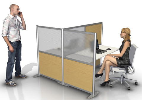 T-Shaped Office Partition 68