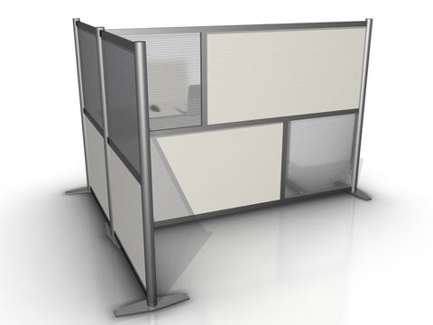T-Shaped Office Partition - 75