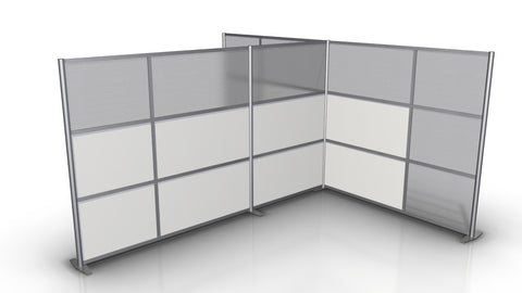 T-Shaped Office Partitions 133