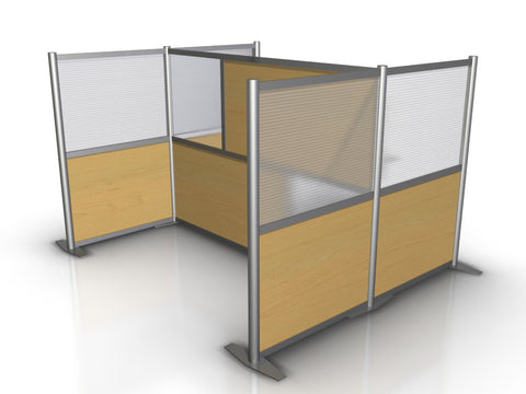 U-Shaped Office Partition 75