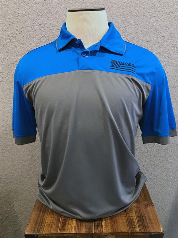 Elevate Performance Polo Men COPS SHOP Small