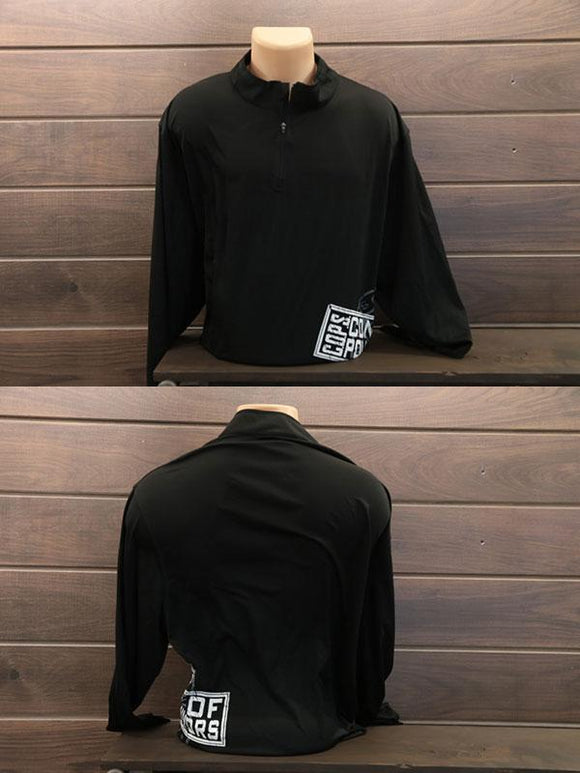 Attain 1/4 Zip Men COPS SHOP Small