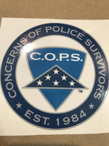 Logo Decal Gifts COPS SHOP