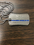 Flag Dog Tag Gifts COPS SHOP