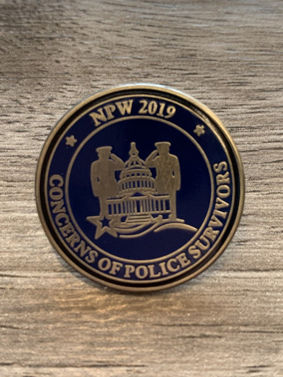 2019 NPW Lapel Gifts COPS SHOP