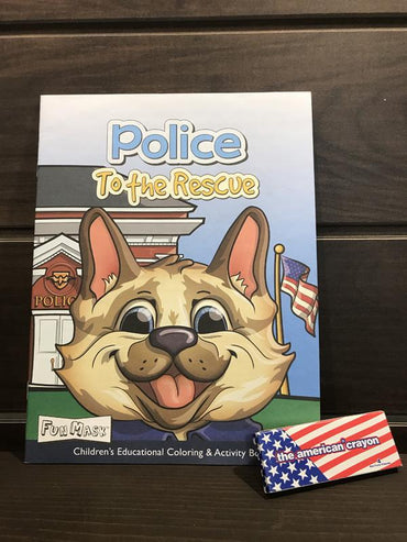 Police Coloring Book - COPS SHOP
