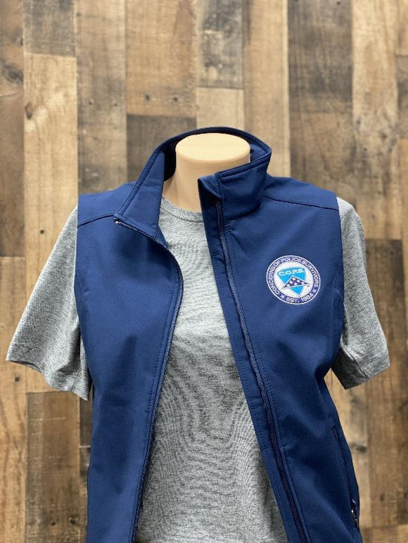 Soft Shell Vest Women COPS SHOP